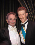 Mark Ledbetter and Joel Grey
