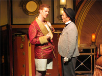 Mark Ledbetter as Lord Evelyn Oakleigh with Joel Grey
