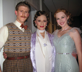 Mark Ledbetter, Kelly Bishop and Erin Nash