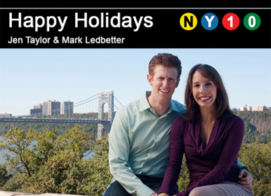 Mark Ledbetter Christmas Cards